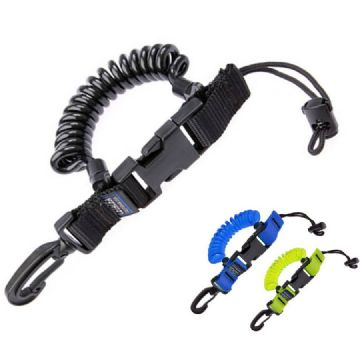 Cetacea - Scuba Divers BCD Extending Coil Lanyard with Quick Release